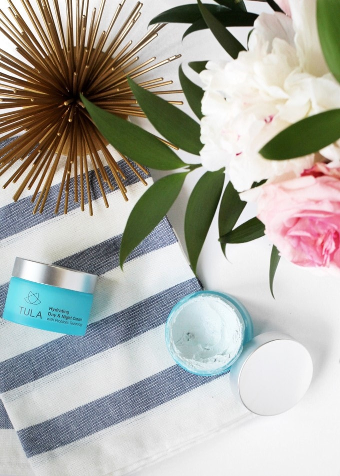 """Tula Skincare - Contains probiotics, or the """"good bacteria"""" and ingredients that aid in digestive health to protect your skin against environmental conditions that harm and age your skin."""