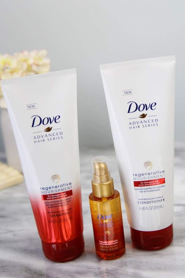Dove Regenerative Nourishment Hair Collection