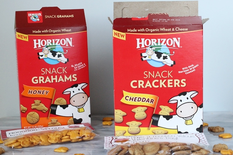 Horizon Organic Snacks - Snack Grahams and Snack Crackers