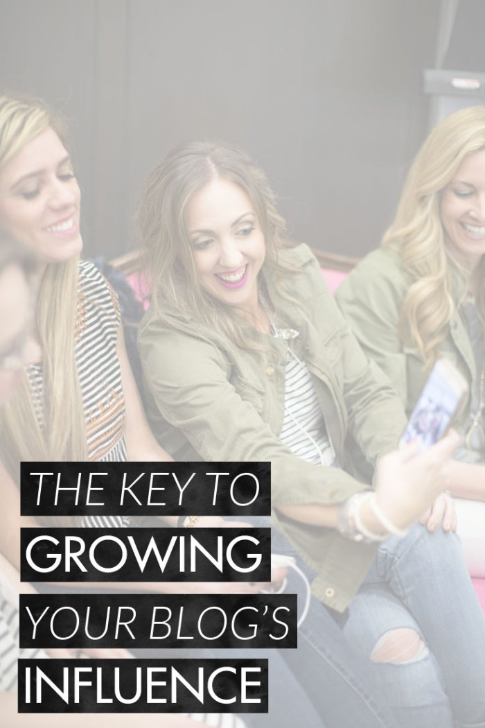 The Key to Growing Your Blog's Influence