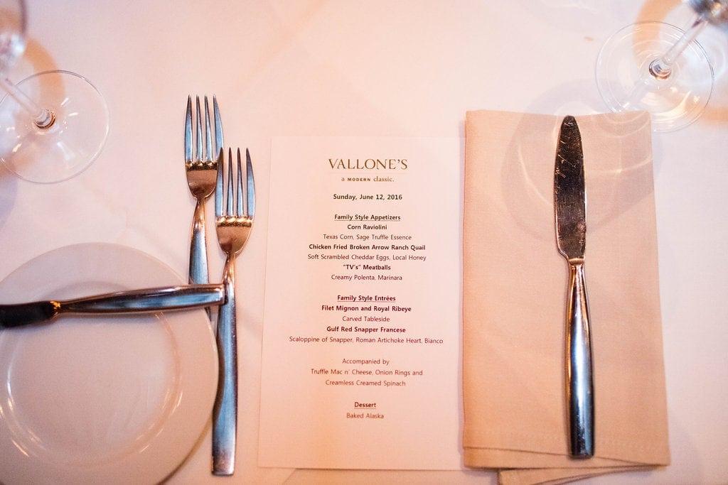 Vallone's Restaurant Houston