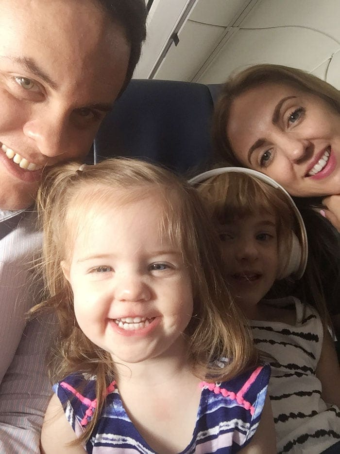 Flying with young kids can be stressful. Click through to see some tips that will make your trip easier!