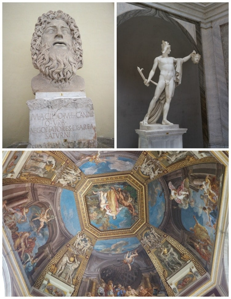 The Vatican Museum in Rome is a must see, at least once in your lifetime!