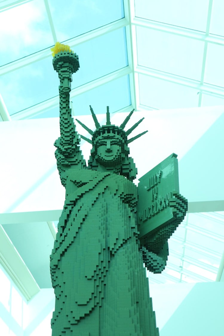 LEGO Americana Roadshow at Baybrook Mall - Statue of Liberty