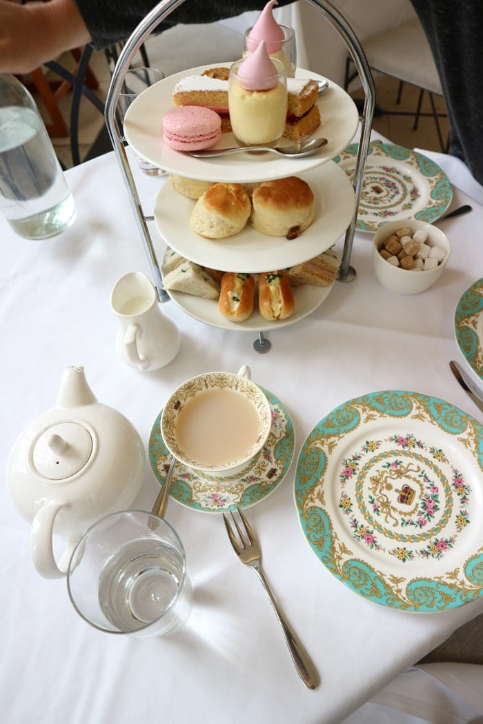 tea at the Orangery - Kensington Palace