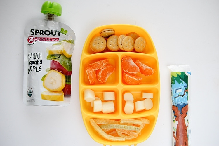 What I pack for my 2 year old's lunch box
