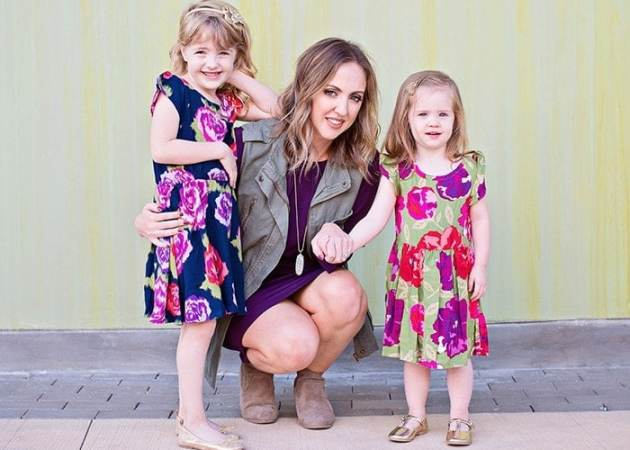 Mama + Mini Style: Fall Floral and Jewel Tones