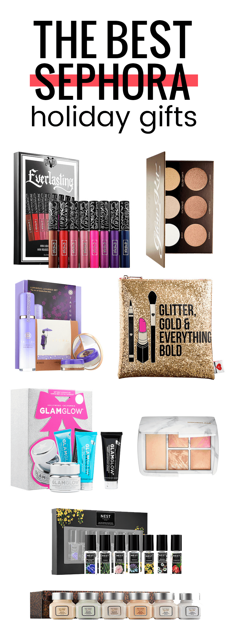 The best Sephora holiday gifts for this season! Perfect for the beauty lover in your life
