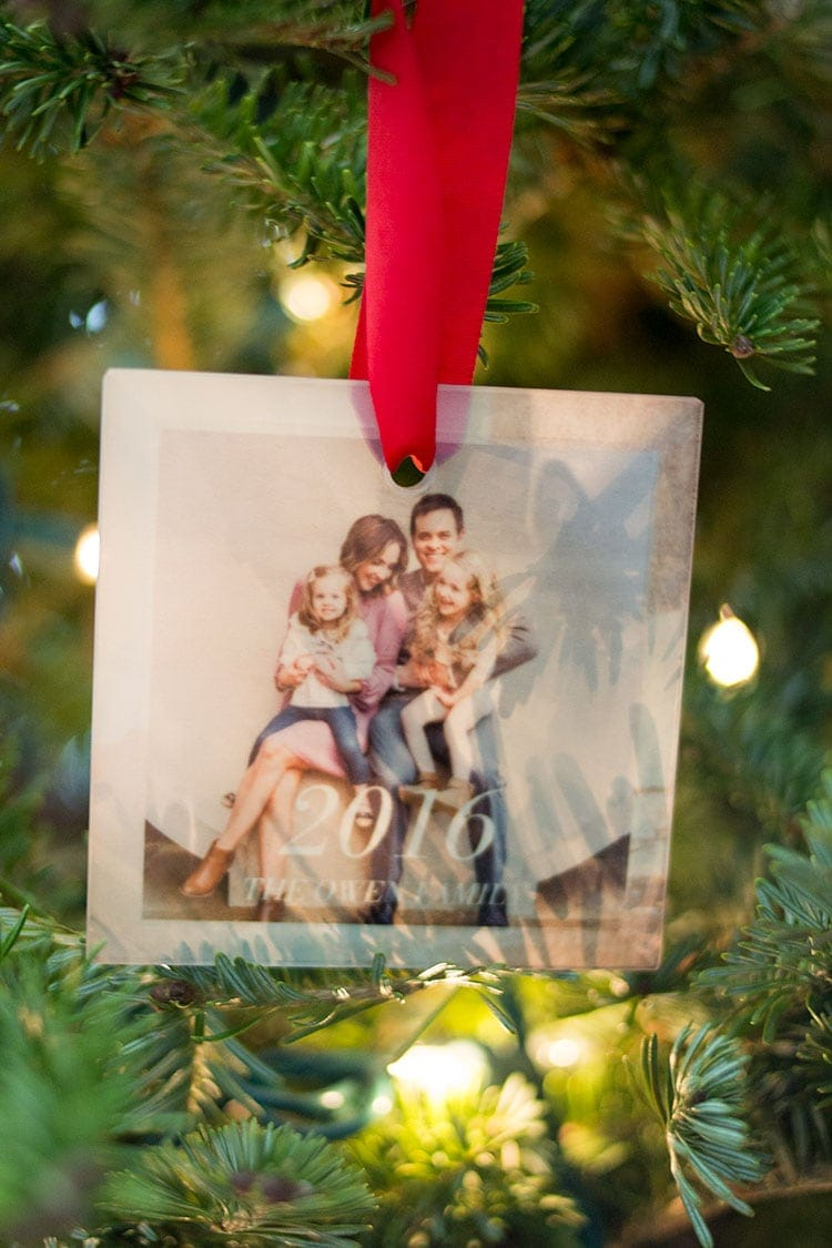 personalized ornament from Tiny Prints