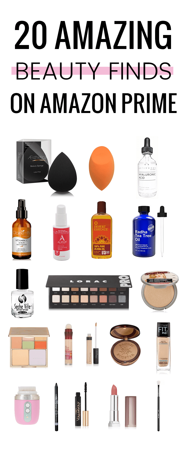 The best beauty finds on Amazon Prime!