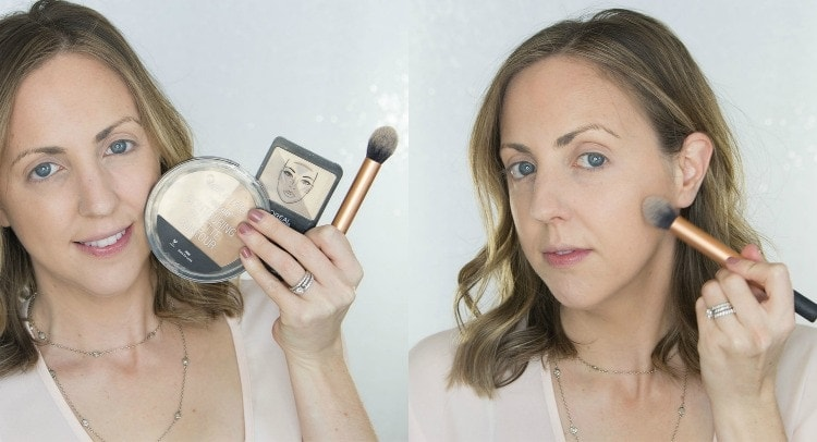 Contouring with drugstore products
