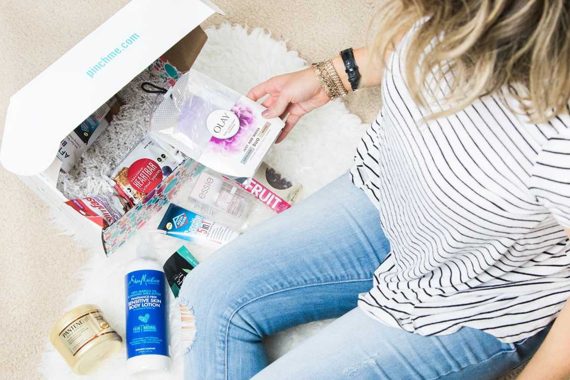 PINCHme free sample box