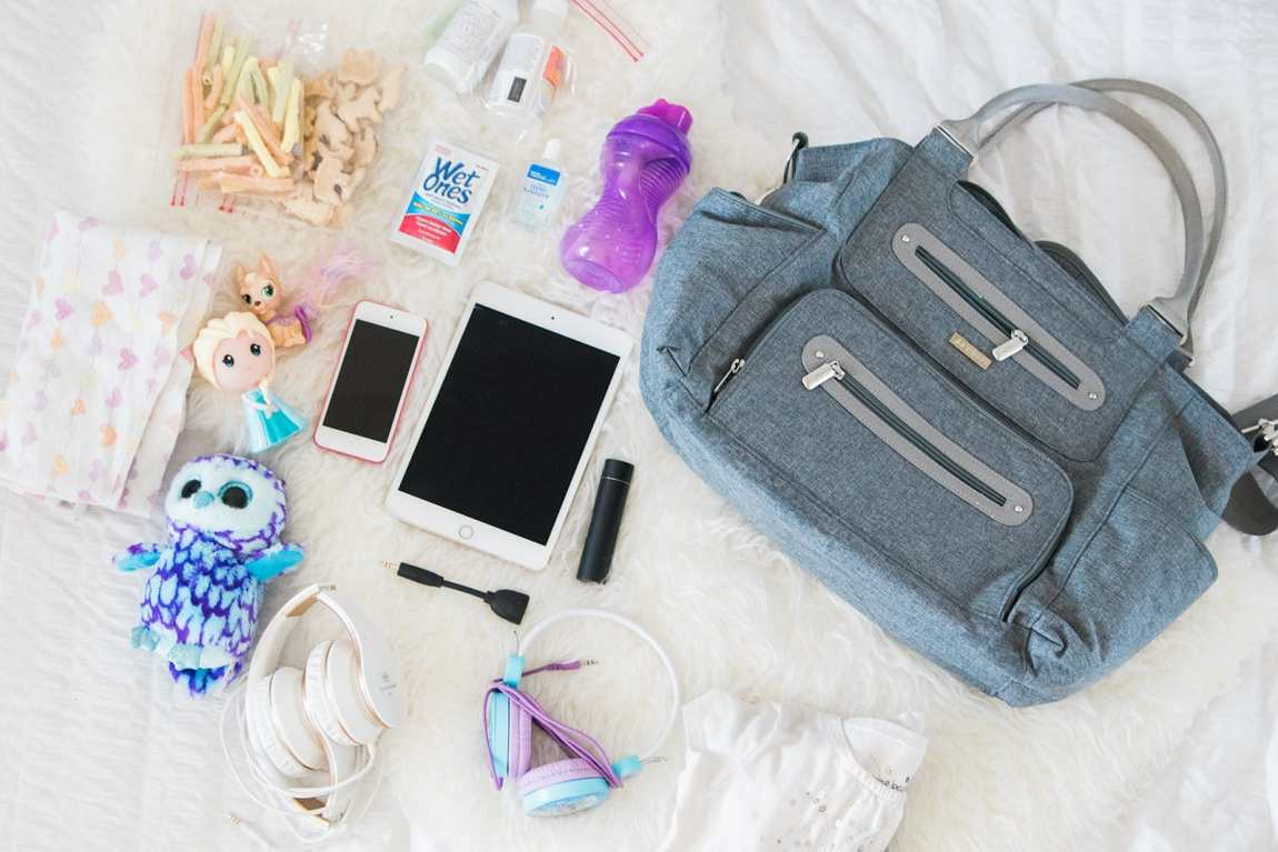 Traveling 101: How to Pack A Carry On For Kids by lifestyle blogger Meg O. on the Go