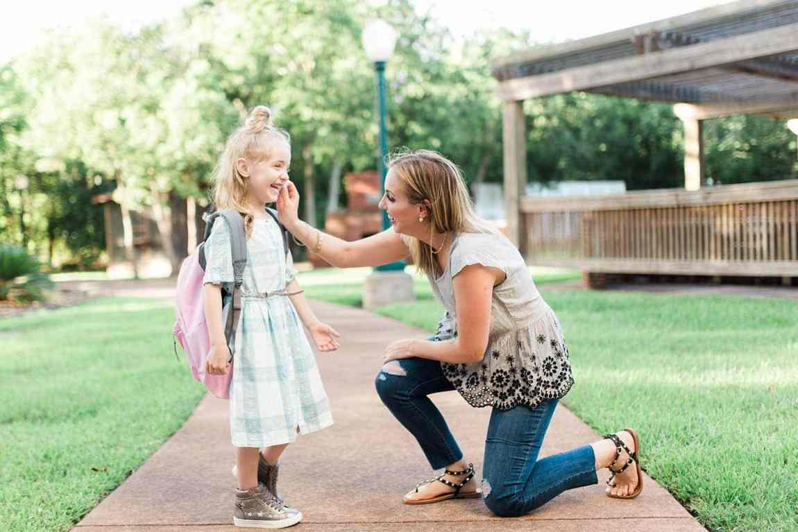mother daughter first day of school - First Day Of Kindergarten Outfit