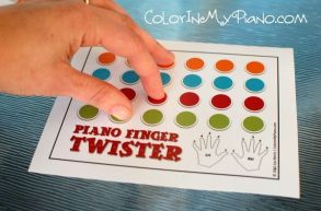 Piano Finger Twister!