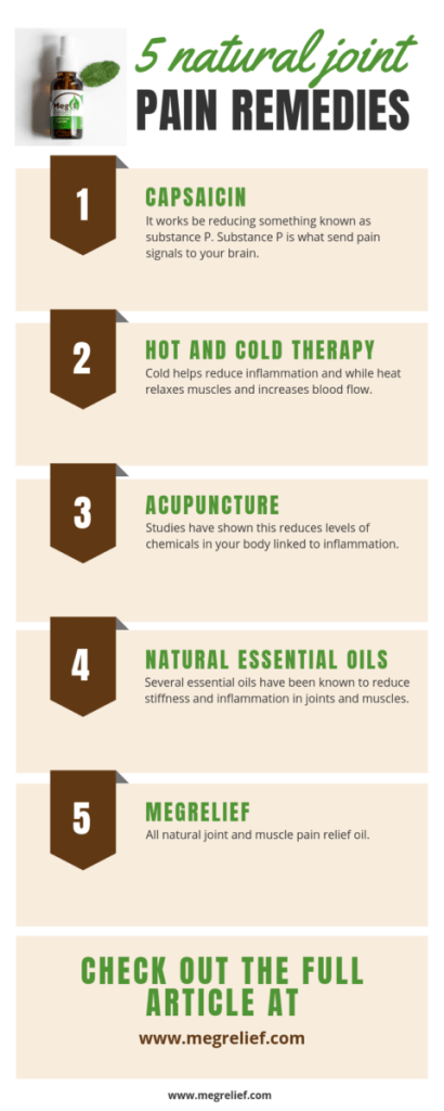 5 natural joint relief remedies