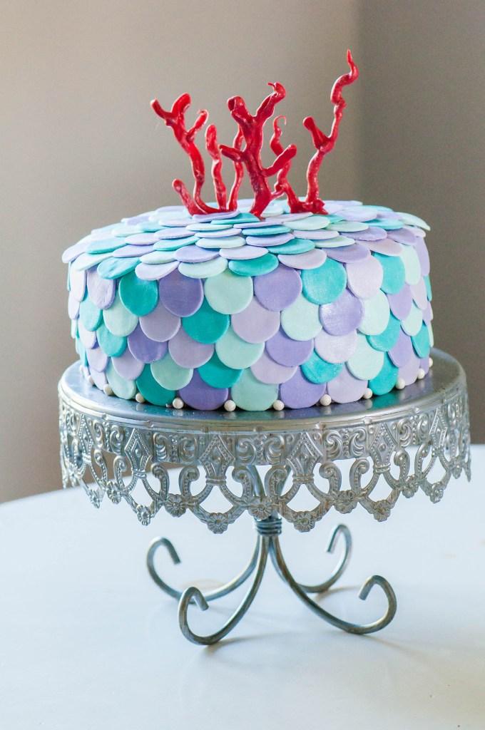 Hannah S Mermaid Cake Meg S Everyday Indulgence
