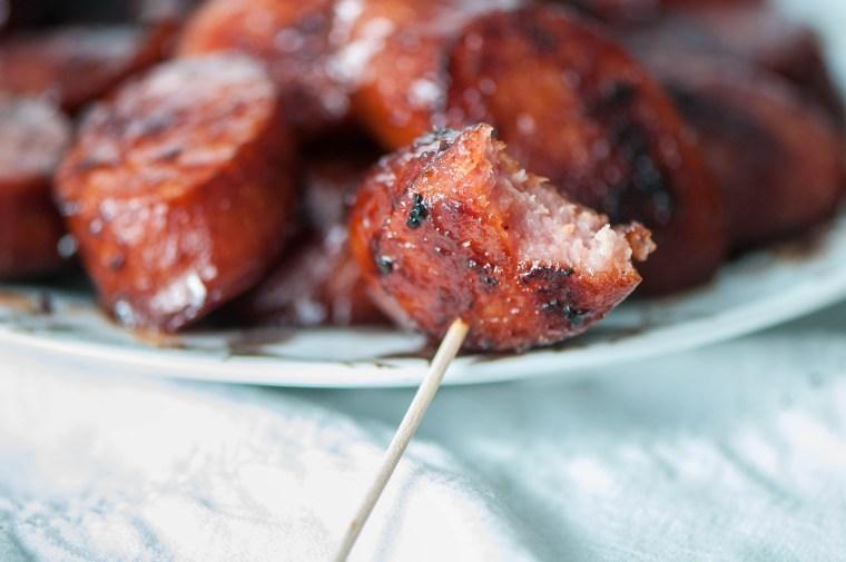 BBQ Kielbasa Bites