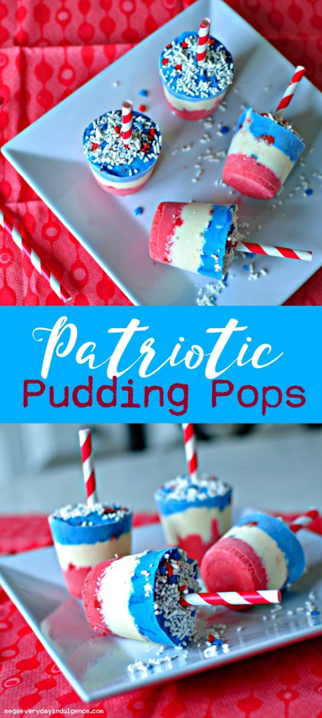 Patriotic Pudding Pops