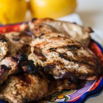 Grilled Lemon Pesto Chicken