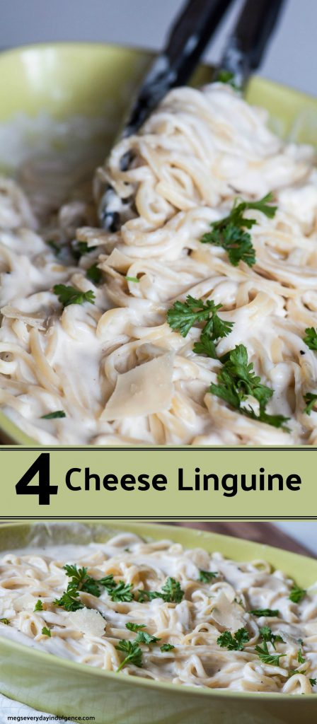 4 Cheese Linguine