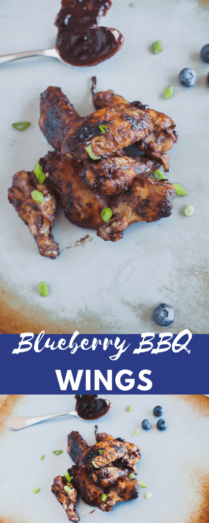 Blueberry BBQ Wings