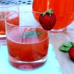 Strawberry Basil Vodka Lemonade