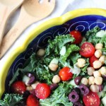 chopped Greek kale salad