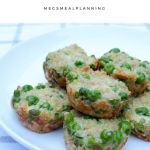 Healthy Toddler Quinoa Pea Mini Muffins