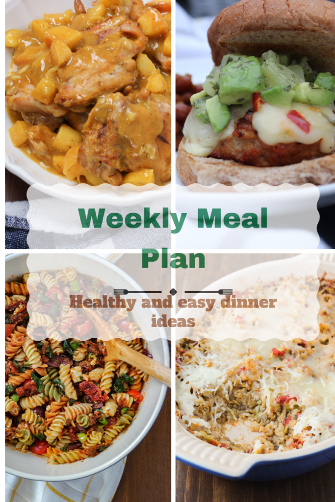 Meal plan for Sept 10th