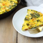Kale Sweet Potato Frittata