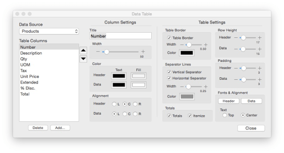 mInventory – Custom Reports – Meg Software