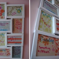 Picture Frame Weekly To-Do List