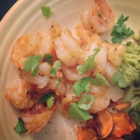 Paleo Sticky Shrimp