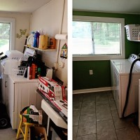 Mudroom {Before & After}