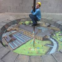 3D Sidewalk Art from Julian Beever