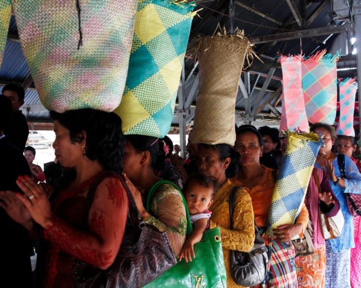 Wedding party in Sidamanik village. 22 August 2012.