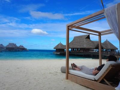 ユナイテッド特典航空券で行くタヒチ旅行記5~Conrad Bora Boraの朝食は?~