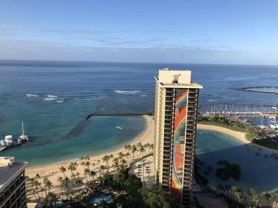 【ハワイ】ヒルトンハワイアンビレッジ・タパタワースイートルームは快適!