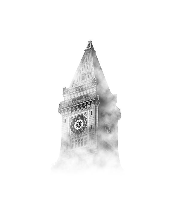 foggy clocktower by osman-rana