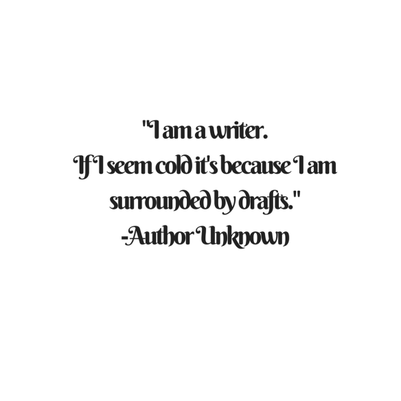 I am a Writer quote
