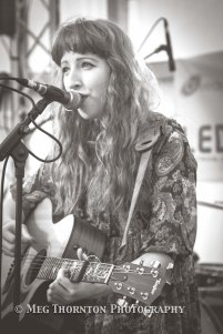 Charlotte Mary's catchy songs were a lovely start to Saturday's line-up