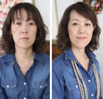 埼玉パーソナルカラー診断 骨格診断 顔タイプ診断 顔タイプメイク
