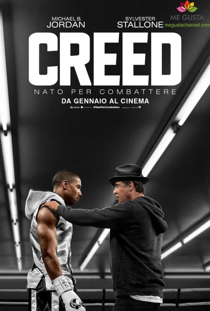 CREED - NATO PER COMBATTERE - Teaser poster italiano copia