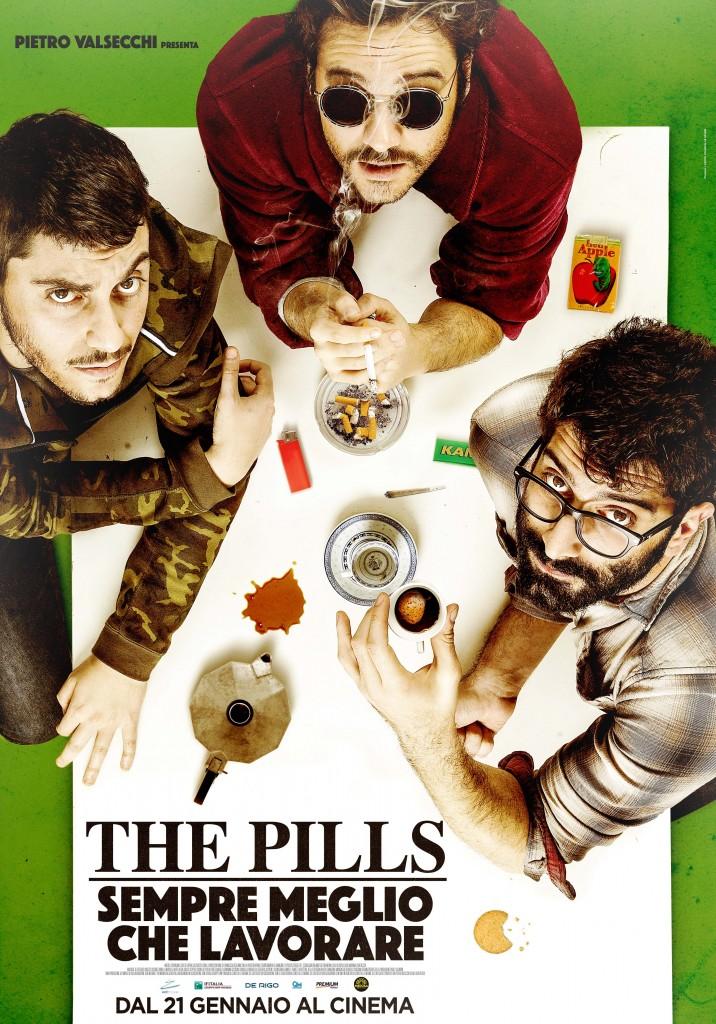 ThePills_SempreMeglioCheLavorare_poster_corretto-716x1024