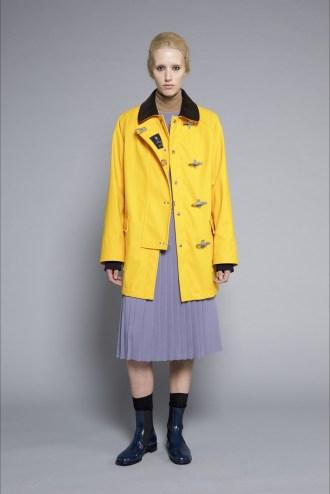 fay cappotto giallo