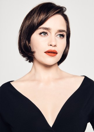 Emilia Clarke photographed by Shayan Asgharnia in Los Angeles, CA on April 24, 2019
