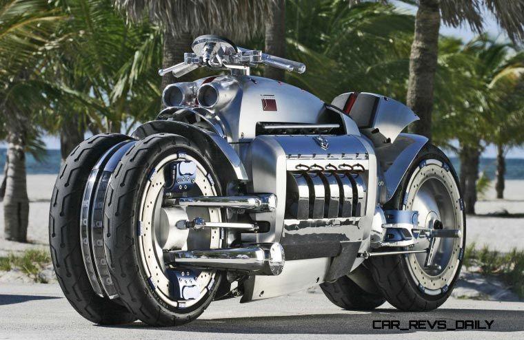 Dodge Tomahawk, la moto más rápida del mundo