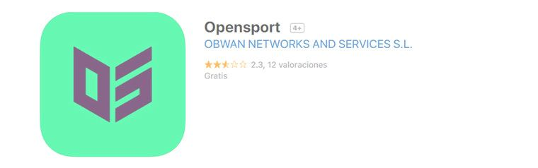 OpenSport para iPhone desde iTunes