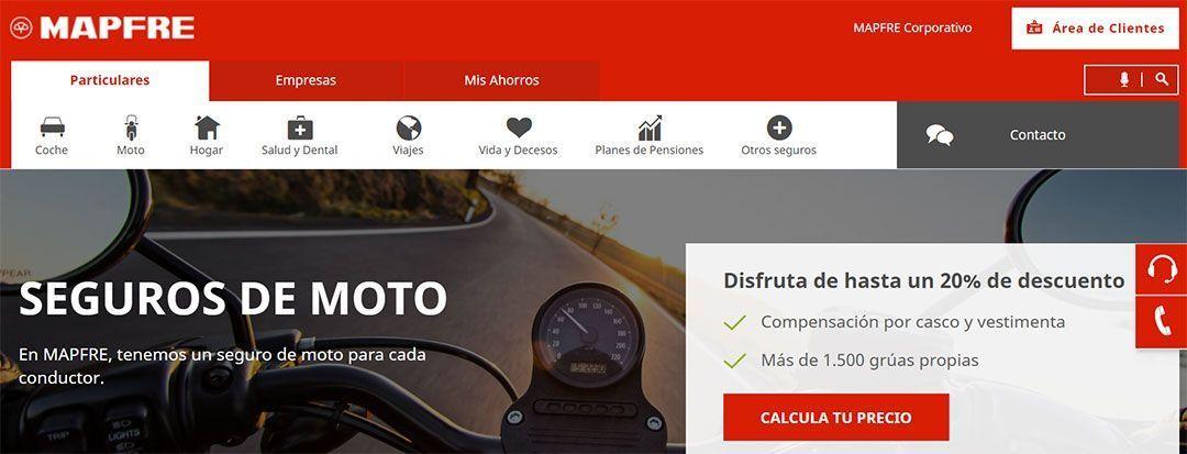 Seguro Mapfre, uno de los más baratos para motos